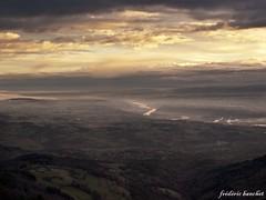 le rhne serpente dans la valle (frdric banchet photographe) Tags: nature ciel nuage paysage fleuve rhonealpes parcdupilat