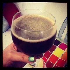 A very drunk #2013 for us! Ou um brinde a 2013 com #cerveja de framboesa ;) #raspberrybeer #biérreframboise (Bibi) Tags: drink squareformat bier cerveja bière bebida boisson iphoneography instagramapp xproii uploaded:by=instagram foursquare:venue=502ef08ee4b06a779de507ef