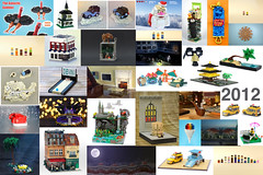 2012 (Carson Hart) Tags: santa white snow building tree tower beach hat car architecture truck toy temple fossil japanese glasses pig bacon candy lego mask cone outdoor avatar year harry potter fluffy scene disney palm adventure foliage story fantasy modular spongebob bowling end claus 2012 the 2013 of minimodular