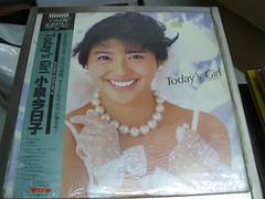 原裝絕版 1985年  2月21日 小泉今日子 KYOKO KOIZUMI Today,s Girl 黑膠唱片 LP 原價 2800YEN 中古品