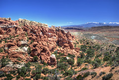 The Fiery Furnace (WorldofArun) Tags: tower rock river utah nationalpark ut nikon sandstone arch hiking space scenic may arches canyon cliffs formation trail wash coloradoriver maze moab walls tight archesnationalpark narrow labyrinth naturalwonders hdr mesa isolated fins 2010 lasal scrambling rockformation drywash squeezing fieryfurnace nabs grandcounty naturalarch 18200mm photomatix lasalmountainrange ancientlandscape d40x worldofarun naturalarchandbridgesociety drywashbed arunyenumula archesnationalmonumentscientificexpedition
