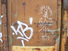 virginia zeke brisco dif (httpill) Tags: railroad streetart art train graffiti virginia streak tag graf railcar boxcar streaks zeke railways freight monikers moniker hobotag hobomoniker hoboart benching paintsticks boxcarart oilbars freighttraingraffiti virginiazeke markals