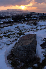 Machlud haul (Iestyn Roberts) Tags: winter sunset snow snowdonia rivals eira gaeaf yreifl