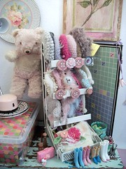 A Day Of Re-Organzing..... (simplychictiques) Tags: studio dolls hats cleaning blythe sundries reorganizing