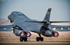 We Have Liftoff! (~Clubber~) Tags: usa airplane fire flying airport exercise lasvegas aircraft aviation military flight jet bone airforce usaf takeoff base lancer jetblast rotate redflag nellis afterburner b1b