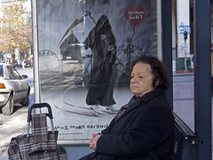 * (Ufuk Akar) Tags: street angel greek death streetphotography athens greece atina