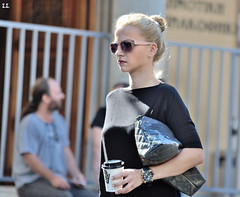 STRAIGHT WALKING BLONDE (stefanos spyridakis) Tags: hellas crete heraklion