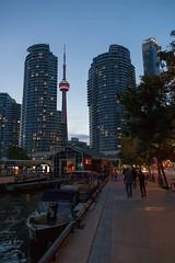 Toronto Waterfront (po.mabille) Tags: street toronto canada water boats cntower