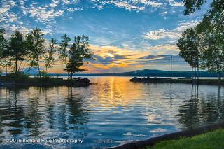 Sunrise over Spencer Bay