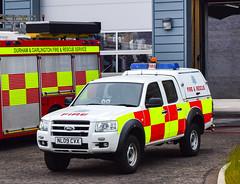 NL09CVX (firepicx) Tags: county rescue ford fire ranger durham darlington service nl09cvx