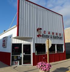 Hardware store, Cando, North Dakota (Blake Gumprecht) Tags: cando northdakota townercounty mainstreet downtown hardwarestore candohomeandhardware
