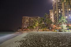Waikiki Beach Honolulu Night View (caz76KOBE) Tags: 2016 2016caz76 2016hawaii canon eos eos6d hawaii honolulu landscape landscapephotography landscapes oahu resort travel usa waikiki waikikibeach beach    nightlandscapephotography nature beautifulearth