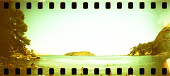 film (La fille renne) Tags: film analog 35mm lafillerenne sprocketrocket lomographyxpro200 xpro crossprocessing sea landscape nature mediterranean roadtrip travel laciotat