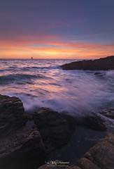 Burning ! (www.gaelboulay-photographies.com) Tags: sea seascape sunset landscape mer paysage coucherdesoleil iledyeu france