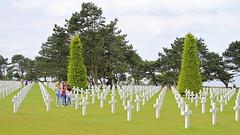 Amerikaanse begraafplaats (14) (Kok Vermeulen) Tags: frankrijk normandi vakantie