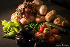 """95/365: con olor a huerta..."" (Josune Martin) Tags: huerta verde verdura hortaliza natural tomate pimiento berenjena patata calabacin"