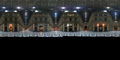 Napoli - Galleria Umberto - Panorama (soyouz) Tags: campania geo:lat=4083847854 geo:lon=1424927289 geotagged ita italie napoli neapel nuit galleriaumberto panorama 360view equirectangular italiel' it