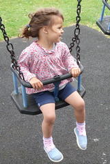 Robyn Swinging (Peter Ashton aka peamasher) Tags: child children grandchild granddaughter robyn
