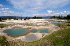 Eyes of the Earth (YuriZhuck) Tags: us usa wy wayoming yellowstone nature landscape geyser spring geothermal park