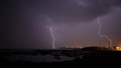 Orages sur Rimouski (jubintown) Tags: thunderstorm lightning rimouski orage clair foudre