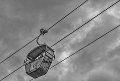 Gondelfahrt (in explore) (tan.ja1212) Tags: gondelfahrt gondel himmel wolken monochrom