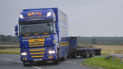 R44 MRR (panmanstan) Tags: daf xf drawbar wagon truck lorry commercial freight transport vehicle colton yorkshire
