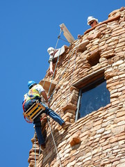 by Jen O'Neil (gca1932) Tags: desert view watchtower renovation grandcanyonassociation grand canyon national park tribal values