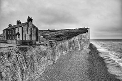(ipadzwochris) Tags: brighton eastbourne travel landscape cliff beach coast shore sea channel beachyhead sevensisters unitedkingdom greatbritain england