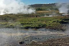 Leaving Strokkur (3) (AntyDiluvian) Tags: iceland reykjavik tour goldencircle geyser geothermal steam hotspring strokkur leaving