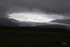 Skaftafell glacier. Iceland (ibethmuttis) Tags: skaftafell glacier summer iceland vatnajokull storm 2016