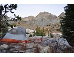 campsite-ediza2 (rkeally) Tags: edizalake anseladamswilderness iceberglake inyonationalforest mountritter bannerpeak minaretsunrise backpacking peakbagging getoutside