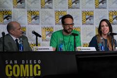 Big Bang Theory Writers Room SDCC 2016 9 (Chris Roth 1) Tags: comicconinternational emilydeschanel jonathancollier michaelaconlin tjthyne bones jasonrothenburgmichaelpeterson johnboyd davidboreanaz ballroom20 sdcc sandiego tamarataylor