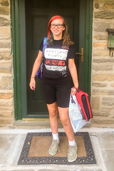 September 2016 - First Day of Eighth Grade (Keith_Beecham) Tags: pennsylvania usa caitlin 2016 wyndmoor september unitedstates