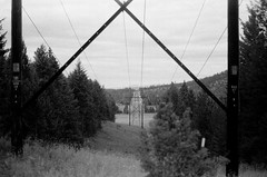 8.2016 Elwah Falls and Loon Mountain BW E19 (Jcicely) Tags: monthaugust otherkeywordsactivityhiking otherkeywordsactivityloonlake otherkeywordsartpassageway otherkeywordscamerafilmpentax35mm otherkeywordscamerafilmpentax35mmbwfilm placesportland