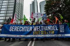 """Frankfurt am Main: """"TTIP & CETA stoppen! Fr einen gerechten Welthandel"""" (campact) Tags: berlin ceta campact demo demokratie demonstration frankfurtmain freihandel globalisierung hamburg kln leipzig mnchen politik protest stuttgart ttip welthandel wirtschaft"""
