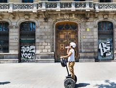 Segway (rossendgricasas) Tags: street tourism urban barcelona photography exploration transporte turismo catalonia segway