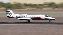 Gates Learjet 35A N577AC (ChrisK48) Tags: 180second 1981 35 gateslearjet35a lear n577ac dvt kdvt aircraft airplane phoenixdeervalleyairport phoenixaz