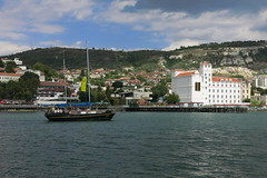 In Balchik (lyura183) Tags: bulgaria  balchik  blacksea sea   port  ship