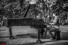 Washington SQ Piano Man Street Photo NYC (Street Photo NYC) Tags: piano washingtonsquare park nyc newyork ny city canon candid street streetphoto streets streetphotonyc streetphotography