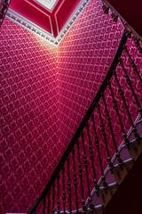 UK - Scotland - Edinburgh - Ritz Hotel (Marcial Bernabeu) Tags: marcial bernabeu bernabu uk united kingdom unitedkingdom greatbritain reino unido reinounido granbretaa scotland escocia edinbugh edimburgo ritz hotel stairs escaleras rojo red staircase