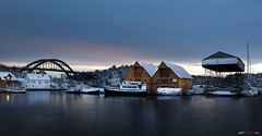 December by the sea... (bent inge) Tags: winter norway boats stavanger norge vinter norwegen 2012 sn rogaland slyst bjelland kystkultur engy engyholmen bentingeask hundvaag1 askphoto slystbrua engybrua