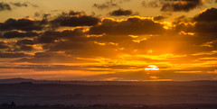 Sunset From Castle-an-Dinas ~ Explored (intrazome) Tags: travel sunset landscape nikon