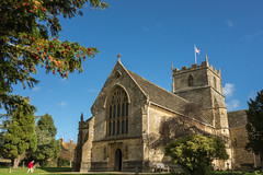 The church of St John the Evangelist, Milborne Port, Somerset, UK (JQ - Who's moving to Ipernity?) Tags: building church berries flag somerset yew rx redberries christianchurch stjohntheevangelist taxusbaccata englishyew seedcones ancientbuilding treeofdeath milborneport