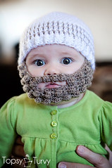 Ravelry: bobble bearded beanie pattern by Ashlee Prisbrey