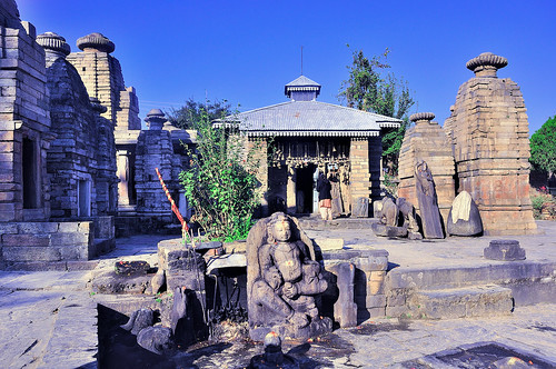 12th Century Temple - Baijnath Temple  Bageshwar  Uttarakhand  India    Uttarakhand Temple Map