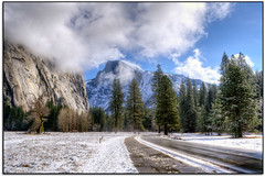 Empty Yosemite (scrapping61) Tags: california winter snow mountains feast forest halfdome yosemitenationalpark legacy 2012 masterclass swp greatphotographers forgottentreasures greenscene 14karatgold scrapping61 sharingart awardtree tisexcellence daarklands legacyexcellence trolledproud trollieexcellence exoticimage poeexcellence photomanipulationsalon digitalartscene masterclassexhibition masterclasselite