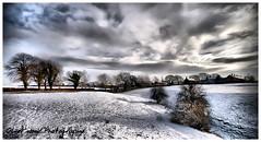 Prestbury low fields - Winter 2010 (Oliver Wood Photography) Tags: winter snow landscape flickraward prestburycheshire prestbury2