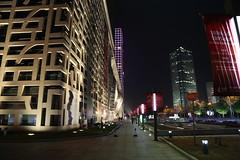 Jumeirah Himalayas Hotel (Florian  v18) Tags: china street light building texture architecture night canon hotel design shanghai     24105      5dmarkiii