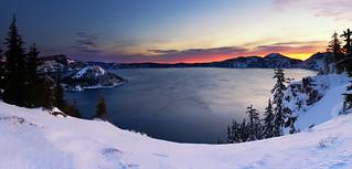 Colorful Solitude | Crater Lake, Oregon
