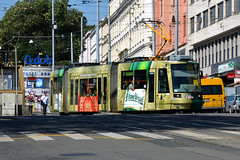 DPMB 1820 [Brno tram] (Howard_Pulling) Tags: summer nikon czech tram august brno advert czechrepublic trams pilsner urquell strassenbahn 2012 skoda moravia morava 1820 koda dpmb hpulling howardpulling 03t d5100